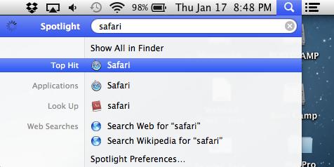 spotlight-shortcut